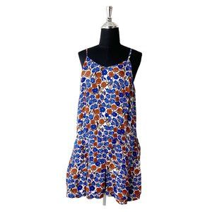 Derek Lam 10 Crosby Floral Drop Waist Dress Size 8
